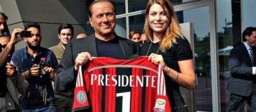 Silvio Berlusconi presidente del Milan.