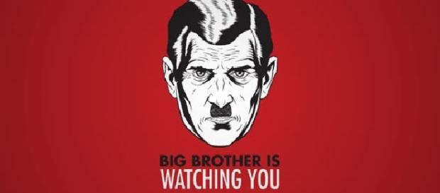 1984, a wonderful book by George Orwell