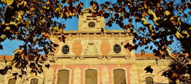 Fachada del Palau del Parlament de Catalunya