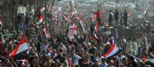 Primavera Araba, manifestazione di piazza
