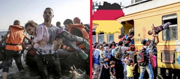"""Un nou """"tsunami"""" de refugiaţi loveşte Germania"""