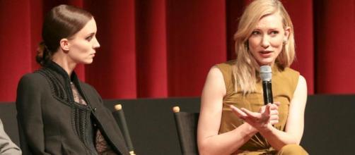 Cate Blanchett y Roney Mara entrevista
