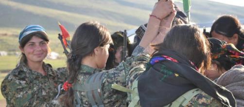 Forza armata specializzata di donne Yazidi