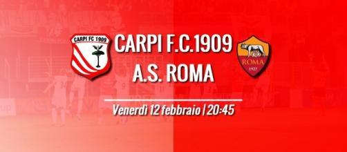 LIVE Carpi – Roma Venerdì 1272 ore 20:45