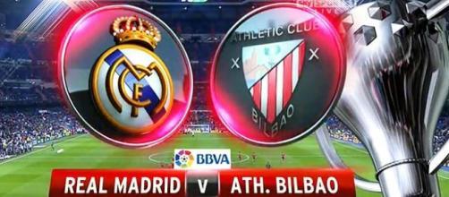 LIVE Real Madrid-Athletic Bilbao il 13/2 ore 16:00
