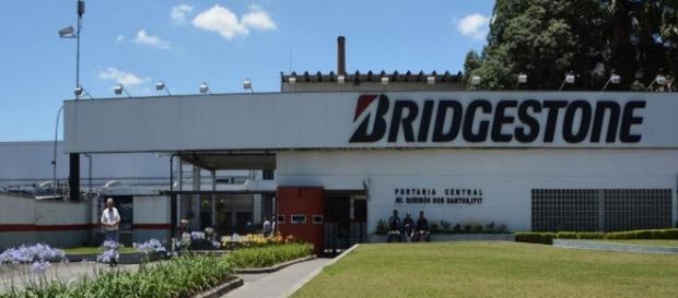 Fábrica da Bridgestone em Santo André