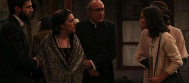 Il Segreto, Aurora accusa Francisca!