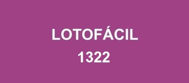 R$ 1,7 milhão sorteado na Lotofácil 1322