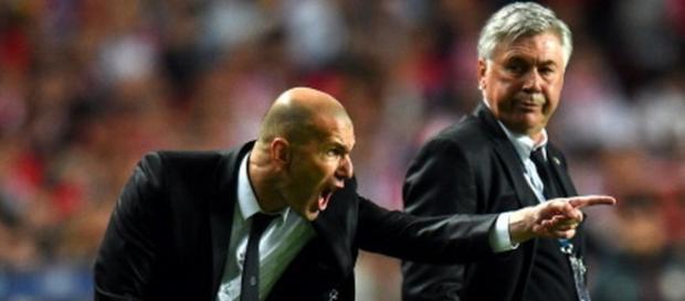 Zinedine Zidane de ayudante de Ancelotti