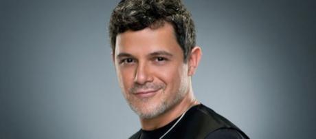 Alejandro Sanz en una sesión fotográfica