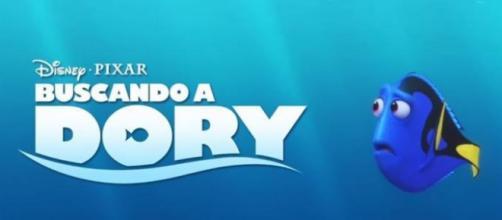Cartel promocional de 'Buscando a Dory'