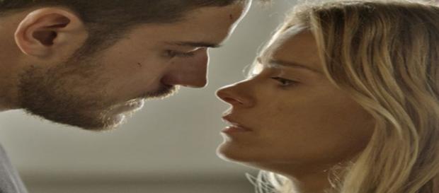 Dante e Lara em 'A regra do Jogo'