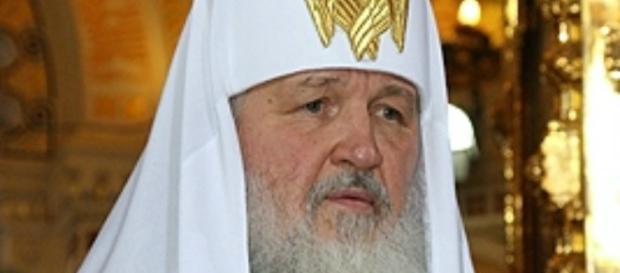 Il Patriarca di Mosca, Kirill.
