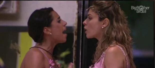 Juliana e Ana Paula (Reprodução/Globo)