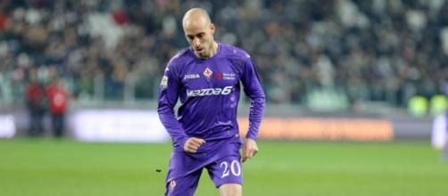 Borja Valero, autore del gol dell'uno a uno