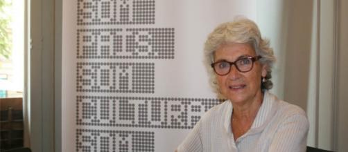 Muriel Casals, cuando presidía Òmnium Cultural.