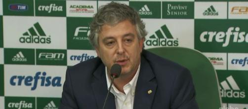 Paulo Nobre, presidente do Palmeiras