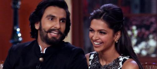 Ranveer suprises Deepika (Image - i.ytimg.com)