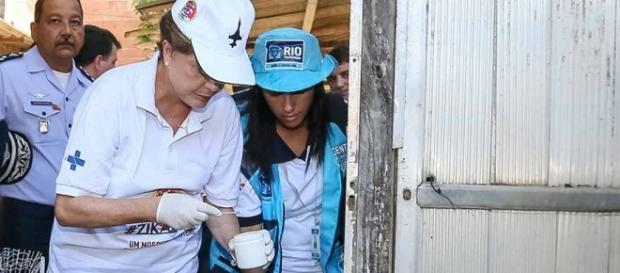 Dilma deu instruções a moradores do Rio de Janeiro