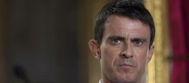 Il primo ministro francese Manuel Valls