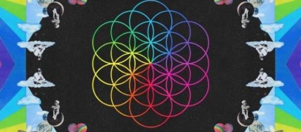 Imagem do novo disco da banda.