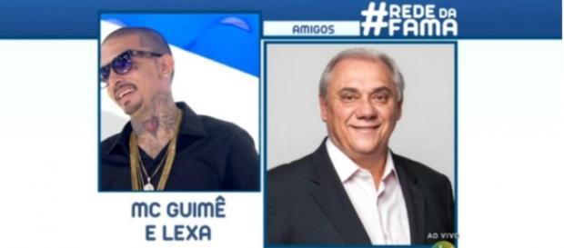 MC Guimê e Marcelo Rezende - Foto/Reprodução