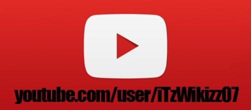 Canal de youtube y logo de la misma red social