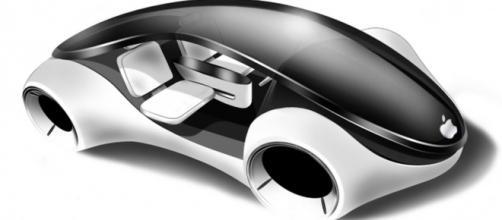 Design accattivante per l'iCar firmata Apple