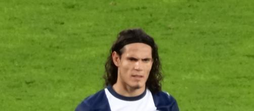 Edinson Cavani, bomber del PSG