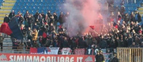 I tifosi dell'F.C. Crotone in trasferta