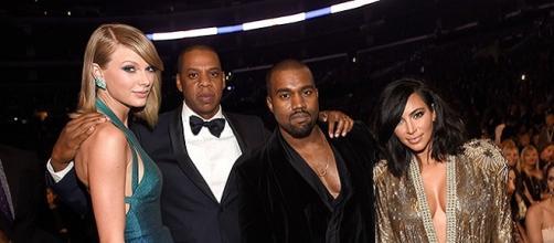 Kanye y Taylor hicieron las paces en los Grammys