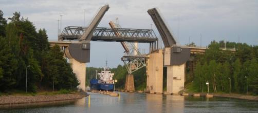 ponte a Sodertalje, luogo dell'incidente
