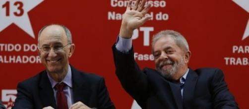 Encontro entre Rui Falcão e Lula