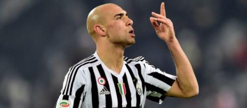 Simone Zaza in gol contro il Napoli