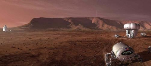 The first Mars explorers (credit: NASA)