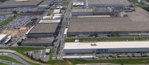 Betim sedia a fábrica de automóveis da Fiat