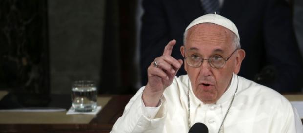 El Papa Francisco I, en uno de sus mensajes