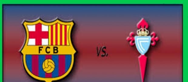 Espectacular partido entre Barça y Celta