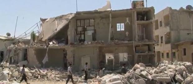 Siria insanguinata da morti e distruzioni