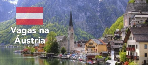 Vagas na Áustria - Foto: Reprodução Edugeography