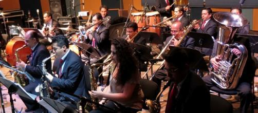 Big Band Jazz de México en Horizonte.