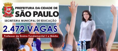 concurso Prefeitura de São Paulo SME-SP Professor