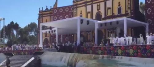 El Papa Francisco estuvo en Chiapas