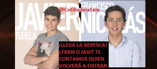 Francisco Nicolás y Javier Tudela de Gh Vip 4