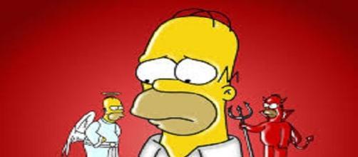 Homero Simpson responderá preguntas en vivo
