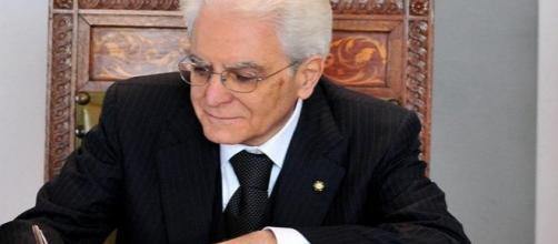 La firma di Mattarella sul D.P.R. del 14/02/2016