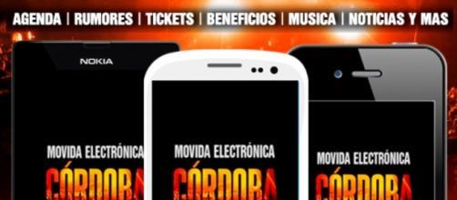 Movida Electrónica, la nueva 'app' cordobesa
