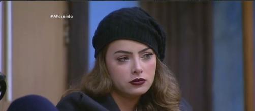"""Rayanne Marais em 'A Fazenda"""" (Divulgação/record)"""