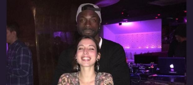 Dosel y su nueva chica, juntos en una foto.