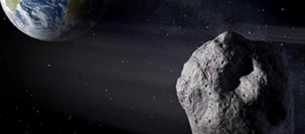 Earth approaching asteroid (NASA)
